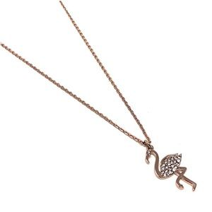 Kate Spade Rose Gold Flamingo Necklace